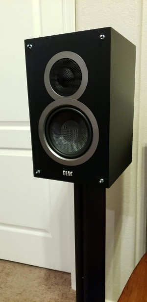 "Elac B5 rev.1, some of ""the"" best stereo and home theater speakers you can buy if you can get..."