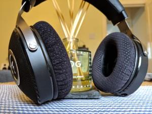 Focal Elear with Shure SRH1540 Alcantara ear pads