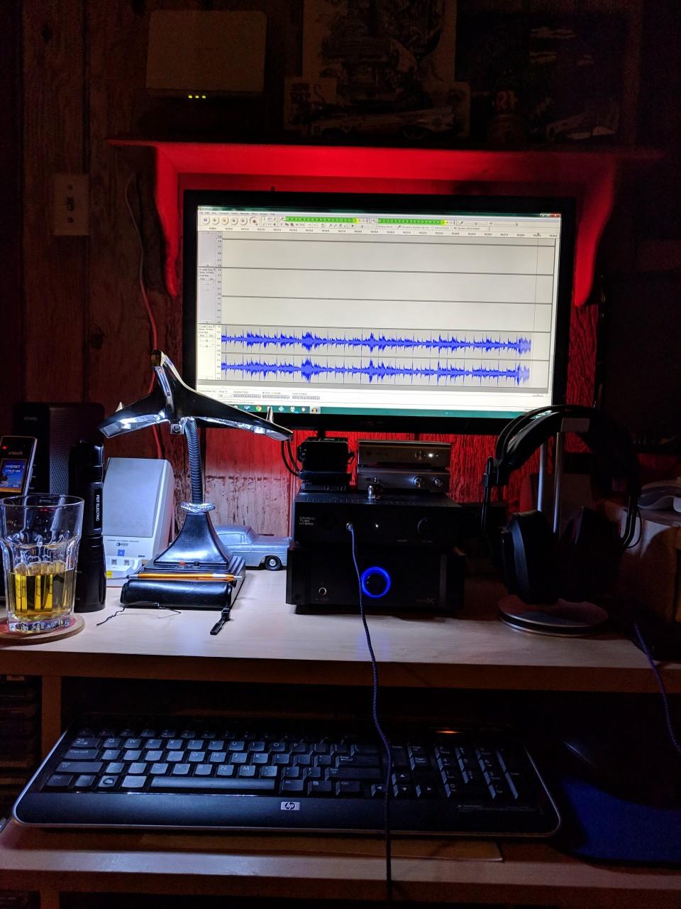 Recording LPs with audacity