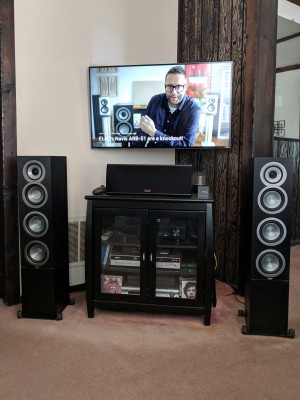 Living room 5.0 setup