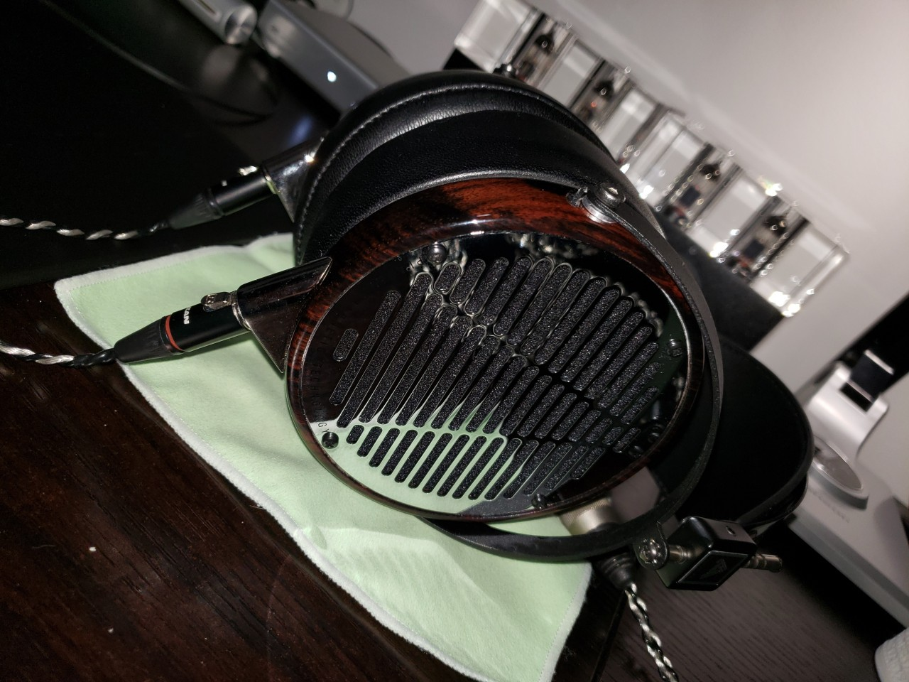 LCD-4 .. Simply beautiful ..OTHER WORLDLY and my favorite all time cans.
