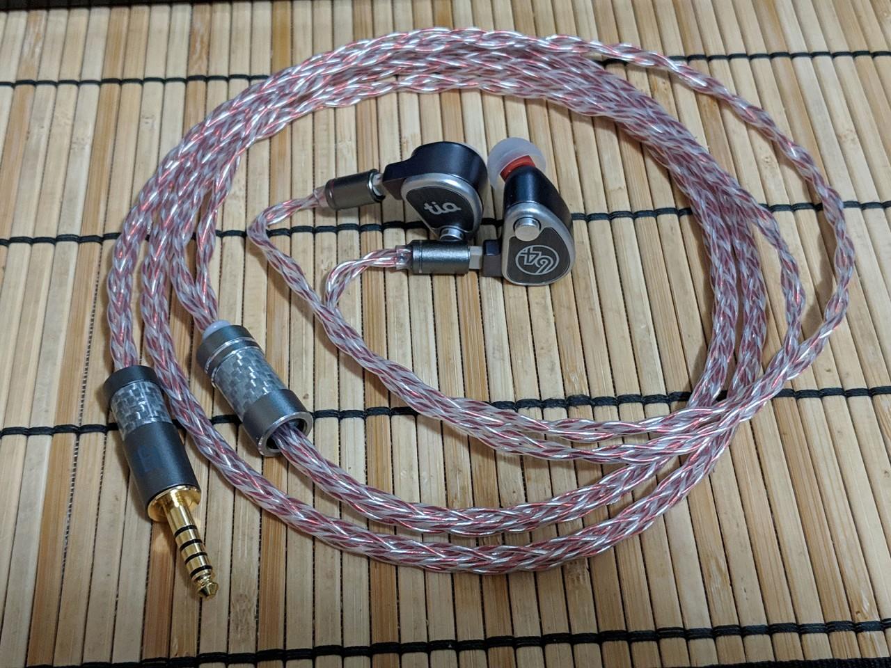 Norne Audio Vorpal Series Type 4 OCC Litz (4 / 8 wire) IEM