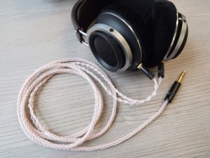 Fidelio X1 with CC1HP cable (DIY)