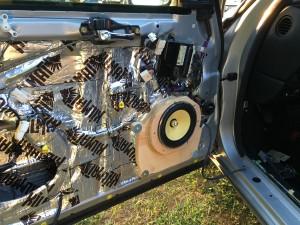 """CDT Audio 6.5"""" Gold front doors"""
