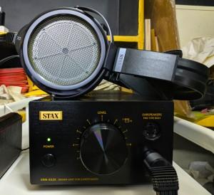 STAX SR-009BK and SRM-353X LE