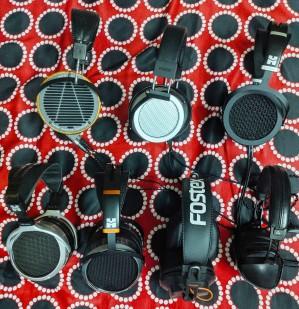 HiFiMAN 400S, 560, Sundara, Audeze LCD2, Sine, Fostex TH500RP, T50RP