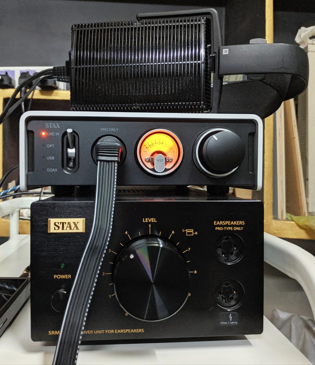 STAX SRM-353X Black Limited Edition, SRM-D50, SR-207
