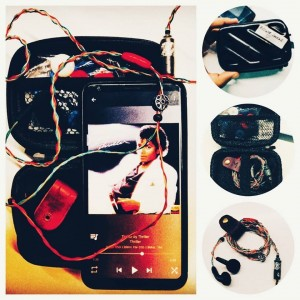 Initial impressions: Not able to conclude which is more beautiful, the looks or the sound signature!! #moonbuds #nightshade #loveformusic #v30plus