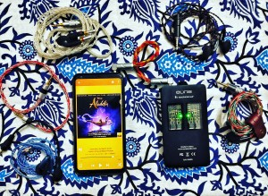 Finally got some time to test all earbuds together!! #travelsetup #v30 #auneb1  #nightshademoon(500ohm) #willsoundmk150(8-core copper) #willsoundmk300 #airmanAhe400(8-core spc)