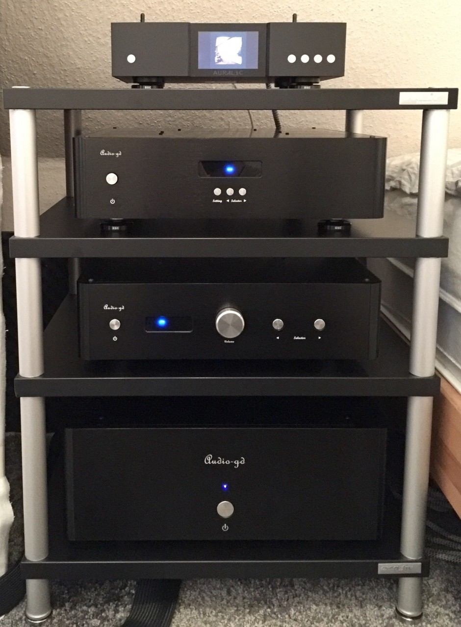 - Auralic Aries G1<br /> - Audio-GD R-7HE<br /> - Audio-GD HE-1<br /> - Audio-GD Master-3<br />...