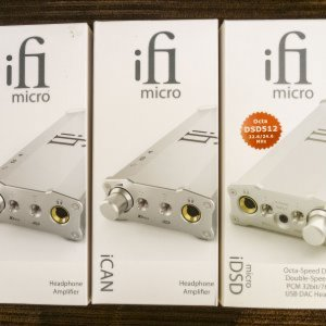 iFi Triple-Threat  (The 1st iCAN box is a display box though.)  ;-)