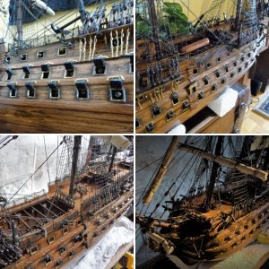 HMS VICTORY 1/78 SCALE