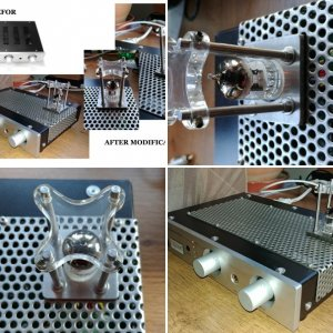 Hand made modification of IPAR -1023A amp.