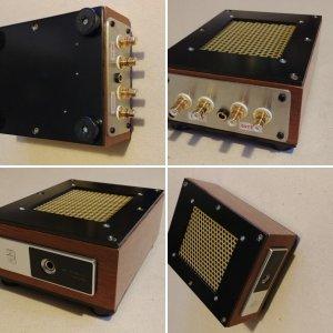SANSKRIT Pha amp case hand made modification.