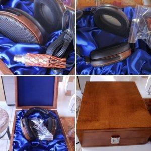 """Sennheiser HE-90 """"Orpheus"""" Ear Speakers"""