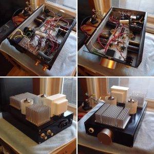 DIY Hybrid headphone amplifier