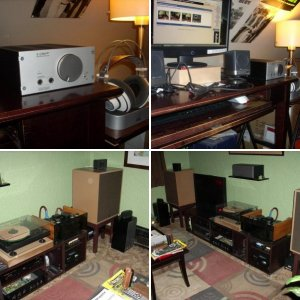Headphone/Speaker/Theatre Set-Ups